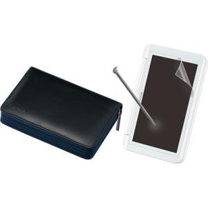 シャープ OZ-330 電子辞書用ケース・液晶保護フィルム・タッチペン3点セット (OZ330)|tantan