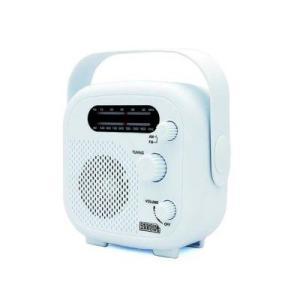 ヤザワ SHR02WH IPX5対応の防水シャワーラジオ(ホワイト)|tantan