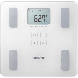 オムロン 4975479414954 体重体組成計 カラダスキャン シャイニーホワイト (包装・のし可)|tantan