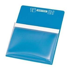ds-2234416 まとめ 上等 TRUSCO マグネットポケットA4用青 1枚 MGP-A4-B ×10セット ds2234416 在庫あり