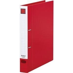 ds-2239893 まとめ キングジム レバーリングファイルDタイプ [再販ご予約限定送料無料] A4タテ 2穴 250枚収容 ×30セット ds2239893 発売モデル 赤 1冊 背幅37mm 6872アカ