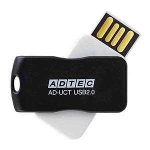 <title>ds-2231449 まとめ アドテック USB2.0回転式フラッシュメモリ 16GB ブラック AD-UCTB16G-U2R 1個 ×10セット ds2231449 訳あり商品</title>