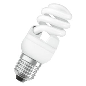 OSRAM(オスラム) EFD15EN/12 電球型蛍光ランプ(グローブレスタイプ) EFD(口金E26)|tantan