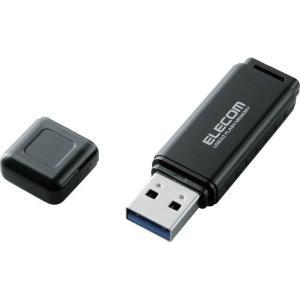 エレコム MF-HSU3A32GBK USBフラッシュ/HSU/32GB/USB3.0/ブラック (...