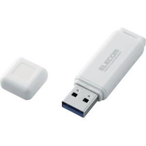 エレコム MF-HSU3A32GWH USBフラッシュ/HSU/32GB/USB3.0/ホワイト (...