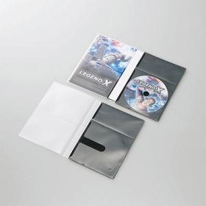 エレコム CCD-DPD10BK 市販ディスク圧縮ケース/DVD/1枚収納/10枚/ブラック  (CCDDPD10BK) (CCDDPD10BK) tantan