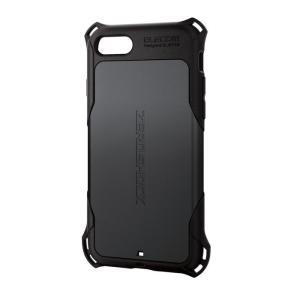 エレコム PM-A19AZEROBK iPhoneSE 第2世代 iPhone8 iPhone7 ケース カバー ZEROSHOCK ゼロショック 耐衝撃 (PMA19AZEROBK)|tantan
