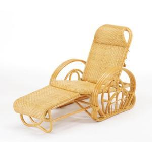 今枝商店 A100 Romantic Rattan 三つ折寝椅子|tantan