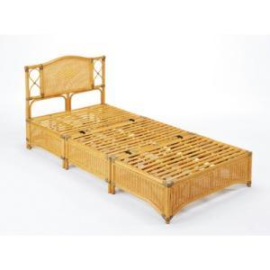 今枝商店 Y918 Romantic Rattan ベッド シングルサイズ|tantan