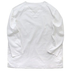 ds-2331994 ロシア軍放出スリーピングシャツ ホワイト 未使用 デットストック 46 (ds2331994)|tantan