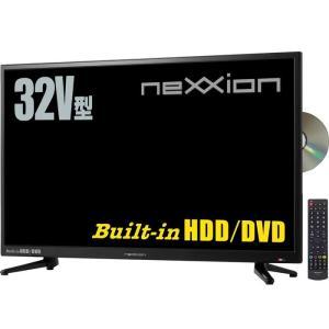 ネクシオン FT-A3228DHB DVDプレーヤー内蔵 HDD搭載 32V型地上波デジタルハイビジョン液晶テレビ (FTA3228DHB)|tantan