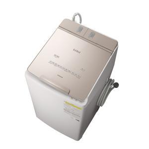 日立 BW-DX90F-N 洗濯・脱水容量9kgビートウォッシュ全自動洗濯機 シャンパン (BWDX90FN)|tantan
