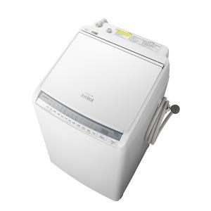 日立 BW-DV80F-W 洗濯・脱水容量8kgビートウォッシュ全自動洗濯機 ホワイト (BWDV80FW)|tantan