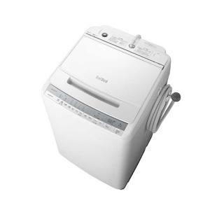 日立 BW-V80F-W 洗濯容量8kg ビートウォッシュ 全自動洗濯機(ホワイト) (BWV80FW)|tantan
