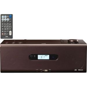 ビクター RD-W1-T Bluetooth/NFC機能搭載CDポータブルシステム (ブラウン)|tantan