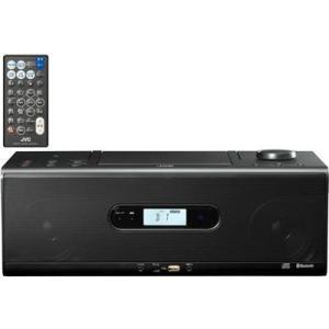ビクター RD-W1-B Bluetooth/NFC機能搭載CDポータブルシステム (RDW1B)(ブラック)|tantan