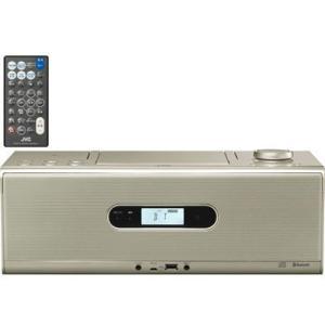 ビクター RD-W1-N Bluetooth/NFC機能搭載CDポータブルシステム (RDW1N)(シャンパンゴールド) (RDW1N)|tantan