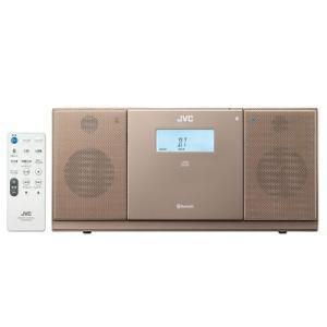 ビクター NX-PB30-T BluetoothR、CD、USB、FM/AMチューナーを搭載 コンパクトコンポーネントシステム(ブラウン) (NXPB30T)|tantan