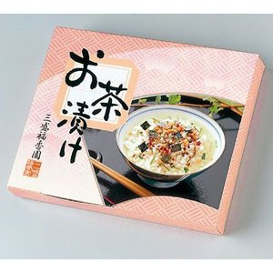 三盛物産 FO-50 【30個セット】お茶漬け [わさび茶漬け6g×3、梅茶漬け6g×2] (FO50)