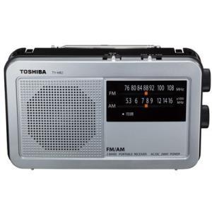 東芝 TY-HR2(S) AM/FMラジオ(シルバー) (TYHR2(S))|tantan