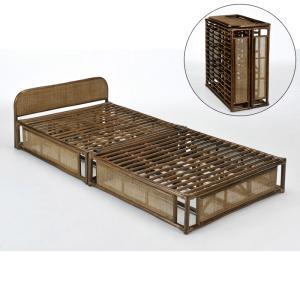 今枝商店 Y919B Romantic Rattan ベッド|tantan