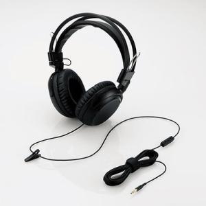 エレコム EHP-TVOH0350BK テレビ用ヘッドホン/オーバーヘッド/φ40mmドライバ/ブラック (EHPTVOH0350BK)|tantan