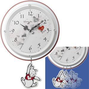 リズム時計 8MX407MC03 くまのプーさん/振り子時計|tantan