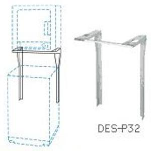 日立 DES-P32-S [直付け方式]ぴったりスタンド 乾燥機スタンド(シルバーグレー) (DESP32S)|tantan
