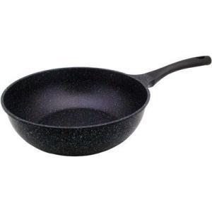 ●軽くて使いやすいダイヤモンドマーブルコーティングの炒め鍋