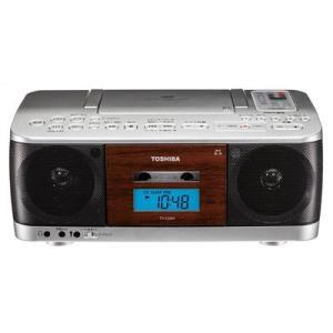 東芝 TY-CDK9(S) CDラジオカセットレコーダー(シルバー) (TYCDK9(S)) tantan