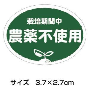 *公式販売*農薬不使用シール 200枚(k-n02)1シート10枚×20シート入り(サイズ3.7×2.7cm)|tantanjp