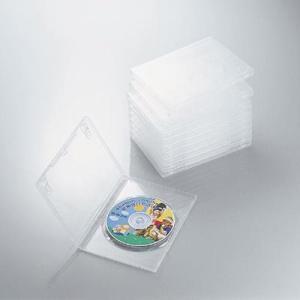 【納期目安:02/09入荷予定】エレコム CCD-DVD03CR DVDトールケース(10枚パック・クリア) (CCDDVD03CR)|tantanplus