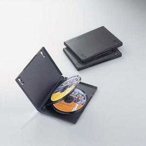 エレコム CCD-DVD07BK DVDトールケース 3枚収納(3枚パック・ブラック) (CCDDVD07BK)|tantanplus