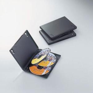 【納期目安:03/09入荷予定】エレコム CCD-DVD08BK DVDトールケース 4枚収納(3枚パック・ブラック) (CCDDVD08BK)|tantanplus