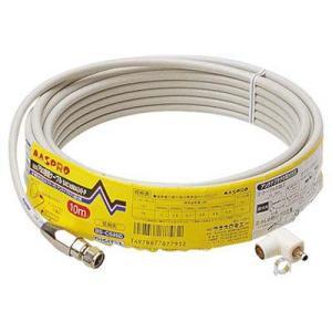 マスプロ 4C用ケーブル10M S4C10MAH-P|tantanplus