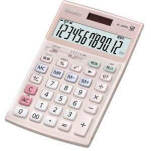 【納期目安:2週間】カシオ JS-20WK-PK 本格実務電卓 12桁(ピンク) (JS20WKPK)|tantanplus