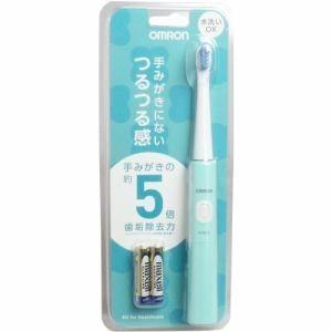 オムロン HT-B210-G 音波式電動歯ブラシ ミントグリーン (HTB210G)|tantanplus