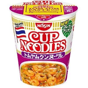 日清食品 E465906H 【ケース販売】日清 カップヌードル トムヤムクンヌードル 75g×12個