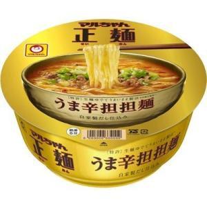 東洋水産 E478665H 【ケース販売】マルちゃん正麺 カップ うま辛担担麺 120g×12個