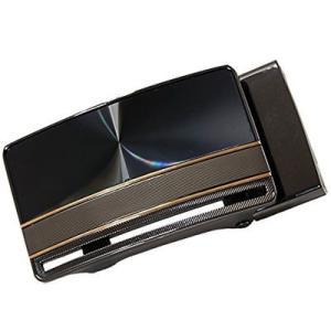 TENKAPAS P35813 無段階調整!快適便利! オートロック 本革 ベルト メンズ P35813|tantanplus