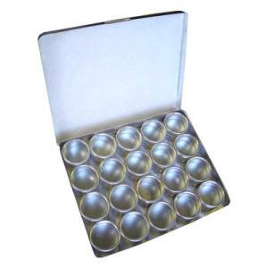 アイガーツール 4986449320472 アイガーアルミ丸パーツ&コレクションケース EGA-20|tantanplus
