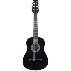 SepiaCrue(セピアクルー) 4534853336314 W-50/BK ミニアコースティックギター ブラック W50BKSC ソフトケース付き|tantanplus
