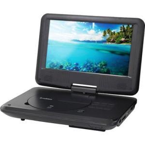 エスキュービズム APD-0901BT 9インチ ポータブルDVDプレーヤー 内蔵バッテリー/車載用バッグ付 (APD0901BT)|tantanplus