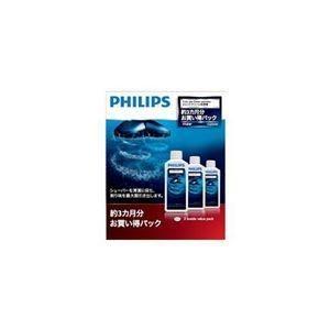 ds-2107206 (まとめ) PHILIPS ジェットクリーン用洗浄液 HQ203/61 【×3セット】 (ds2107206)|tantanplus