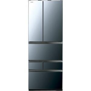 【納期目安:約10営業日】東芝 GR-R550FZ-XK VEGETA(ベジータ) 6ドア冷蔵庫(551L・フレンチドア) クリアミラー (GRR550FZXK)|tantanplus