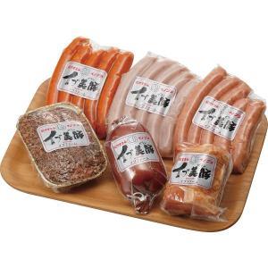 【納期目安:1週間】2460085000230 「イブ美豚」(猪豚肉) 手作りハム&ウインナーセット