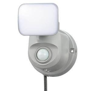 オーム電機 OSE-LS400 LEDセンサーライト(1灯/400lm/コンセント式) (OSELS400)|tantanplus