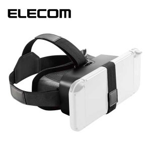 エレコム GM-NSVG01BK Nintendo Switch VR モード対応 VRグラス VRゴーグル スマートフォン (4.7〜6.5インチ) 対応 任天堂 スイッチ (GMNSVG01BK)|tantanplus