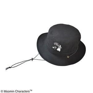 ds-2270222 【保育士さん】【帽子】【アウトドア】ムーミン サファリハット リトルミイブラック (ds2270222)|tantanplus