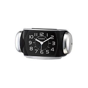 リズム時計 8RA636-002 シチズン 大音量 目覚まし時計 ベル音アラーム 連続秒針 バトルパ...